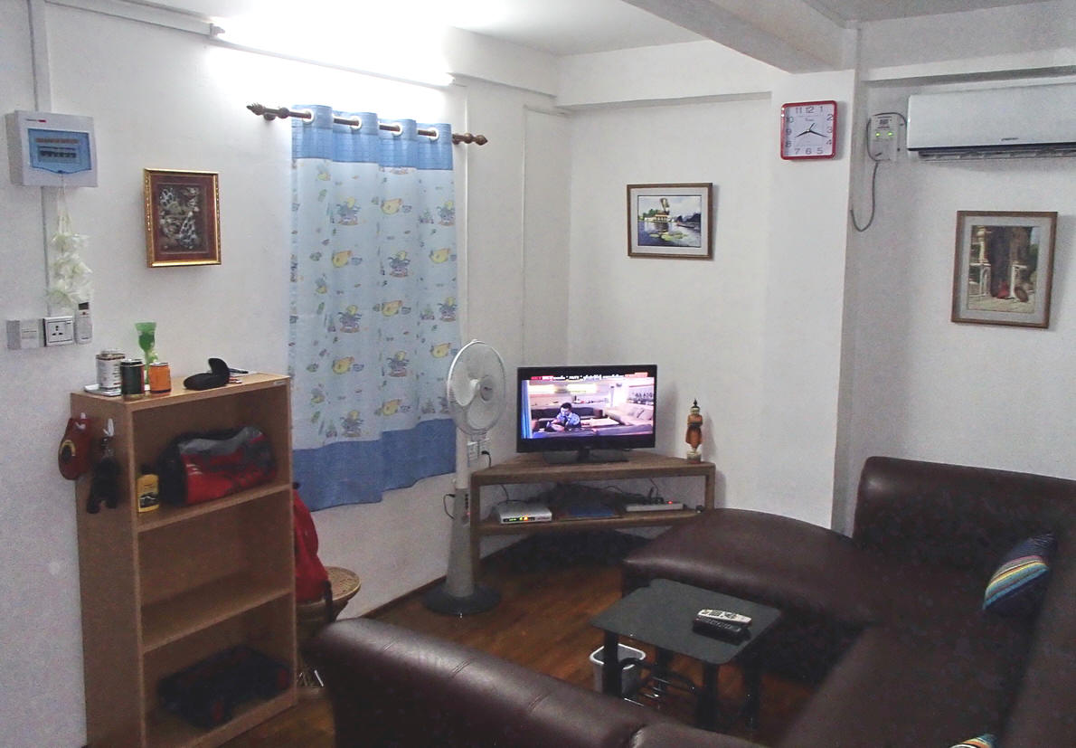 living room for rent. Cable TV in Living Room YANGON APARTMENT to Rent Myanmar  www htetco com